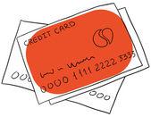 πιστωτική κάρτα — Διανυσματικό Αρχείο