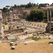 Stock Photo: Ruins of Ancient Rome - view from the Campidoglio