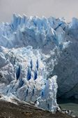 Perito Moreno Glacier which has amazing color - it is really blue — Stock Photo
