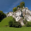 Ojcow - castles built on inaccessible rocks — Stock Photo