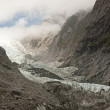 Stock Photo: Frantz Josef Glacier is one of largest in southern hemisphere
