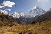 Nepal - Annapurna — Stock Photo