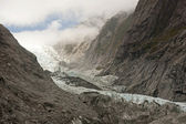 Frantz Josef Glacier is one of the largest in the southern hemisphere — Stock Photo