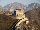 GREAT WALL OF CHINA - BADALING — Stock Photo