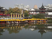 NANJING CITY CONFUCIUS TEMPLE (CHINA) — Stok fotoğraf