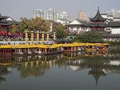 Nanjing city tempel van confucius (china) — Stockfoto