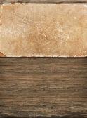 Resistido papel antiguo de madera — Foto de Stock