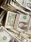 Big sack of money — Stock Photo
