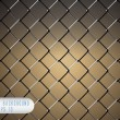 Royalty-Free Stock Vector Image: Chain Fence. Vector