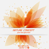 Nature background. Abstract — Stock Vector