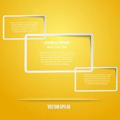 Abstract web design. vector — Stock Vector