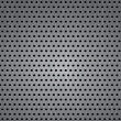 Seamless metal texture background. Vector — Stock Vector