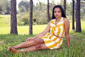 Cute Teen Latina Outdoors (8) — Stockfoto