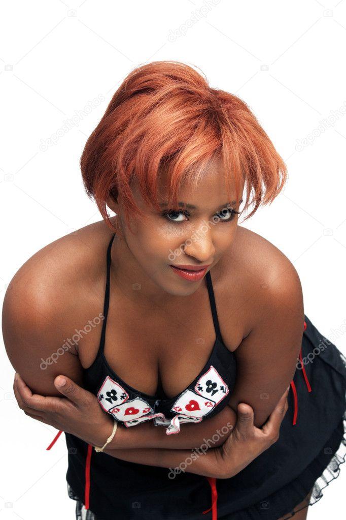 Redhead Buxom Teen Ebony Teen 96