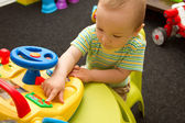 Baby Playing With The Toys — Foto Stock