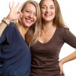 Two European Women — Stock Photo #11035142