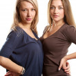 Two European Women — Stock Photo