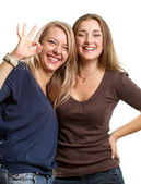 Due donne europee — Foto Stock