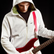 Man With The Guitar — Stock Photo #11155461