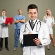 Doctor Man With Stethoscope — Foto Stock