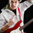Man With The Guitar — Stock Photo #12371815