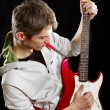 Royalty-Free Stock Photo: Man With The Guitar