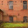 An old almost ruined factory building — Stock Photo