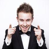 Success best positivity men — Stock Photo