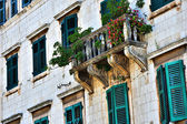 Old town lanscape in montenegro — Stock Photo