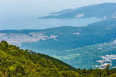 Aerial of montenegro — Stock Photo
