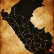 Map of Peru — Stock Photo