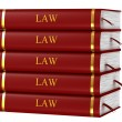 Books of Law — Stock Photo