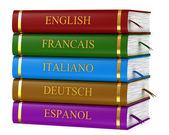 The book translators — Stock Photo