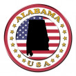 The symbol state of Alabama — Stock Photo