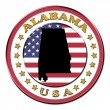 Royalty-Free Stock Photo: The symbol state of Alabama