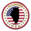 The symbol state of Illinois — Stock Photo