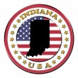Royalty-Free Stock Photo: The symbol state of Indiana