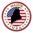 Royalty-Free Stock Photo: The symbol state of Maine