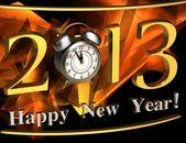 2013 year inscription — Stock Photo