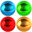 Royalty-Free Stock Photo: Illustration set of color spheres