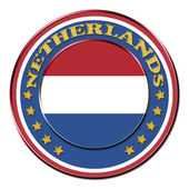 Award with the symbols of Netherlands — 图库照片