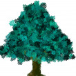Stock Photo: Tree green