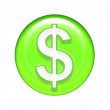 Money symbol Illustration — Stock Photo