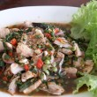 Stock Photo: Laab fish thai food