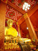 Big buddha in thai — Stock Photo
