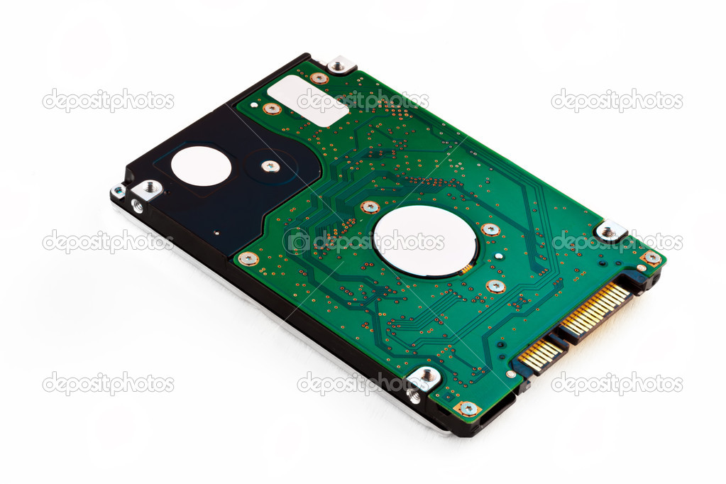 Laptop Harddisk Isolated on a white background — Stock Photo #11153109