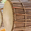 Two drums — Stock Photo