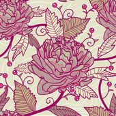 бесшовный цветочный — Cтоковый вектор