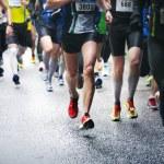 Marathon runners — Stock Photo #10934355