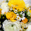 Stock Photo: Bridal flower bouquet